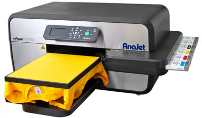 AnaJet 5i direct to garment printer