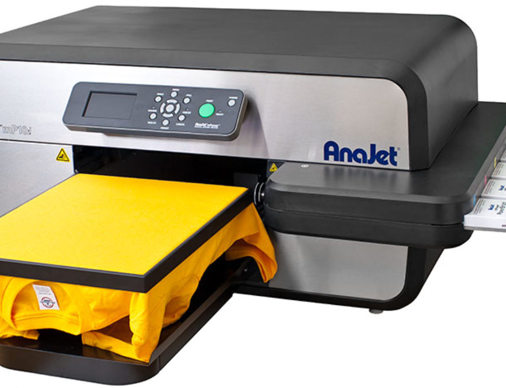 Meet the AnaJet mPower 5i & 10i DTG Printer